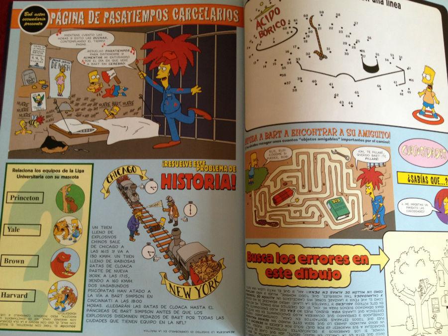 La cabaña del terror de Bart Simpson. 15,50 euros