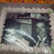 Tarta decorada con foto