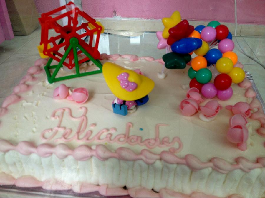tarta decorada para un cumplaos infantil with tartas para cumpleaos infantiles