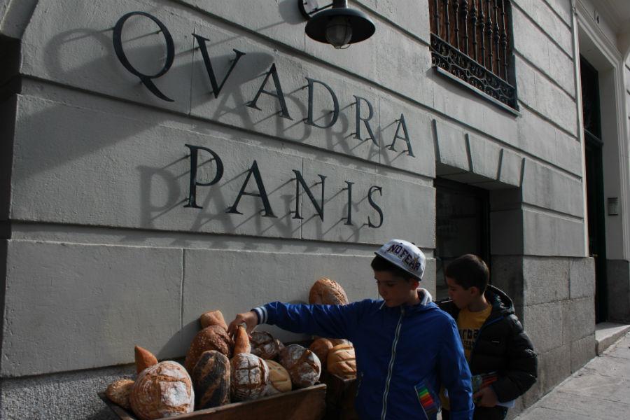 Quadra Panis: una tienda de pan tradicional en Madrid