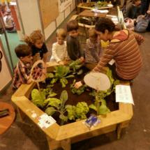 Taller ecológico en el Festival Mamaterra