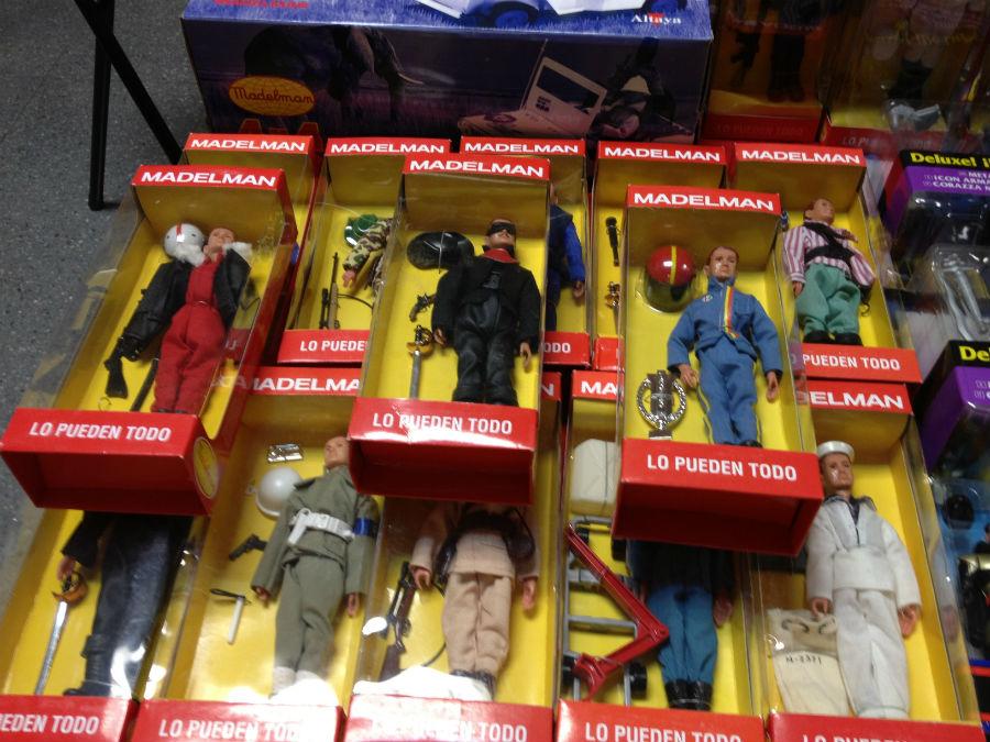 ¿Quién no recuerda los Madelman? Estos muñecos se pueden encontrar aún hoy en los mercadillos de juguetes