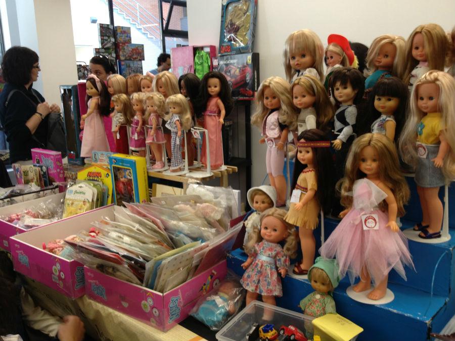 Nancys, Leslies… en estos mercadillos encontraremos también muñecas antiguas