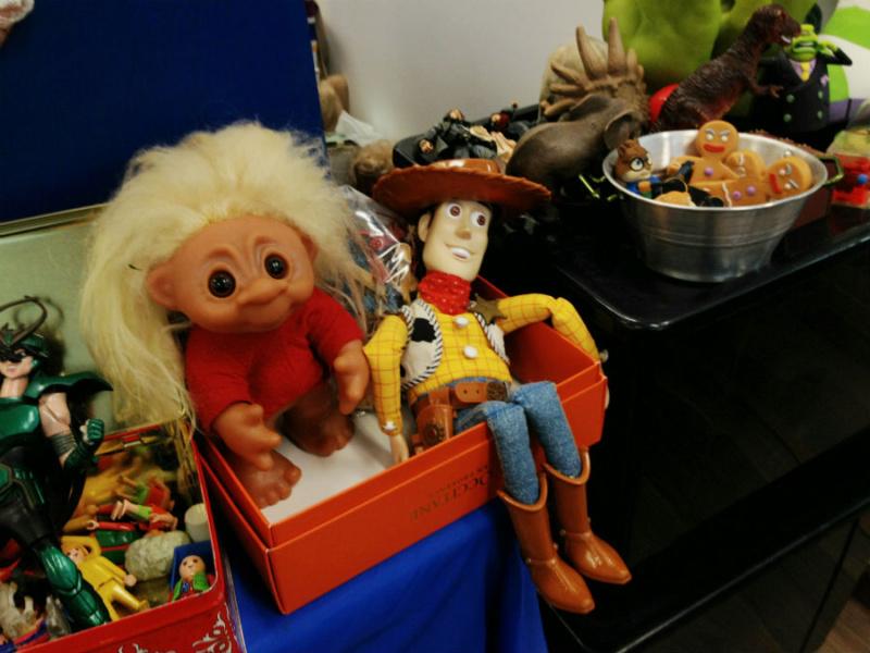 En los mercadillos de juguetes se pueden encontrar juguetes de todas las épocas.