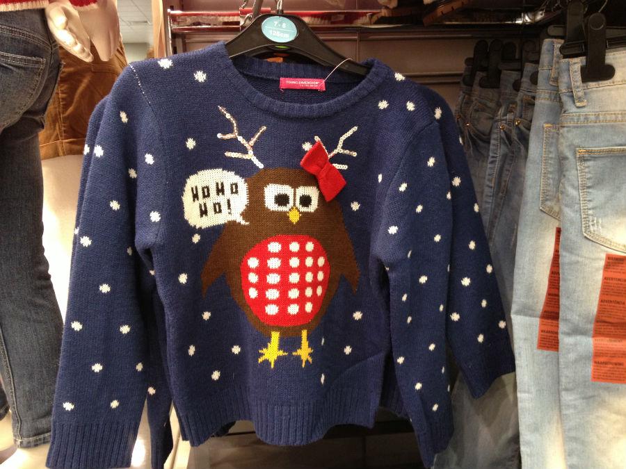Jerseys de Navidad low cost, en Primark