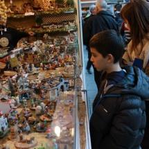 Visitamos el mercado navideño de Granada