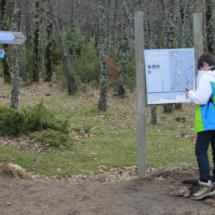 La ruta de la Cascada del Purgatorio tiene dos vertientes