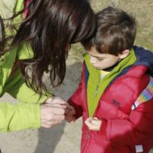 La ruta a pie por la Cascada del Purgatorio pueden hacerla también niños pequeños