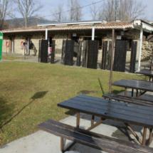 Área recreativa en la ruta de la Cascada del Purgatorio