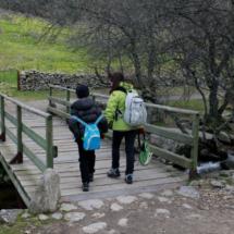 A lo largo de esta ruta cruzaremos encantadores puentes de madera; a los niños les encanta...