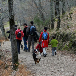 La ruta a pie por la Cascada del Purgatorio es una ruta muy familiar