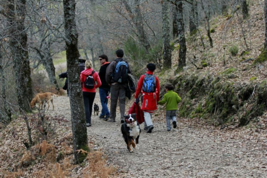 Ruta con niños por la Cascada del Purgatorio