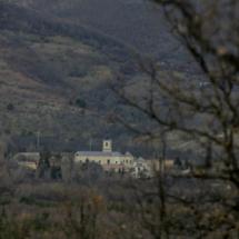 Vista del Monasterio de El Paular