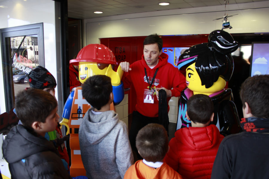 Participamos en el concurso de Lego, The Movie