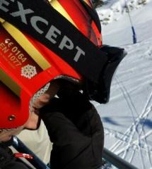 En una de las pistas de esquí de Grand Valira, Andorra