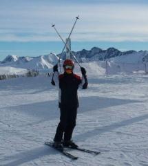 Esquiando en Grand Valira, Andorra