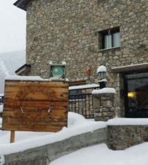 Fachada de hotel Ransol, en Andorra