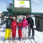 Cómo es esquiar con los niños en Formigal
