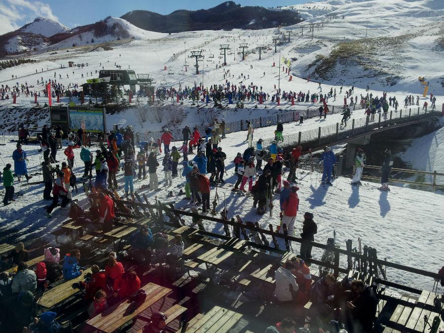 Vista de la estación de esquí de Formigal