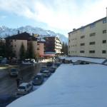 Vistas de Sallent de Gállego desde el hotel Nievesol