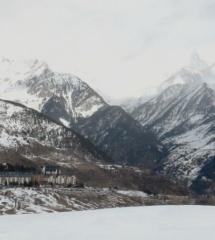 Vistas de la estación de esquí Formigal