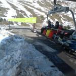 La estación de esquí de Formigal, con niños