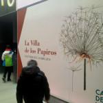 Visitamos, con los niños, una exposición sobre el papiro en el Matadero de Madrid