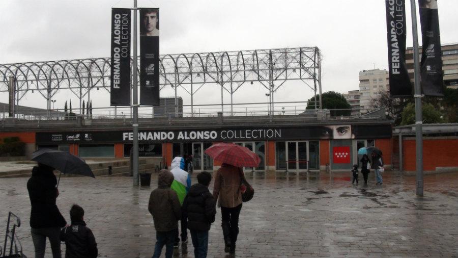 Visitamos la exposición sobre Fernando Alonso, con los niños