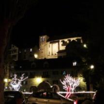 Sallent de Gállego, por la noche