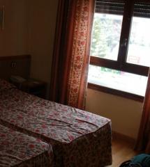 La decoración del hotel Nievesol, en Formigal, es funcional