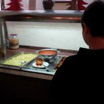 Los buffets del comedor del hotel Nievesol son variados