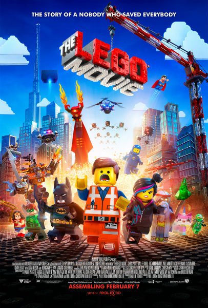 Cartel de la película The Lego Movie
