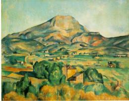 'La Montaña de Sainte-Victoire', de Cézanne