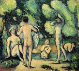 'Bañistas', de Cézanne