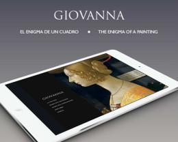 Esta aplicación para tablets te permite descubrir a fondo la obra 'Giovanna'