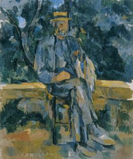 'Retrato de Desconocido', de Cézanne