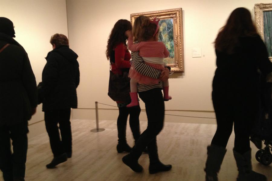 Os damos algunos trucos para disfrutar de una exposición de Cézanne con los niños