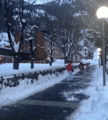 En invierno, Formigal y Panticosa ofrecen estampas como ésta