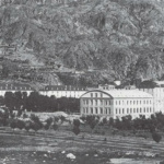 Imagen del antigua balneario de Panticosa