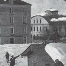 Imagen de las instalaciones antiguas del balneario de Panticosa