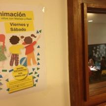 Los fines de semana, el hotel Continental de Panticosa organiza actividades para niños con animadores