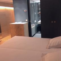 Habitación doble en el hotel Continental, en Panticosa