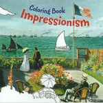 Portada de 'Coloring Book Impressionism'