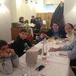 Cena famliar en el restaurante La Fontana, en Panticosa