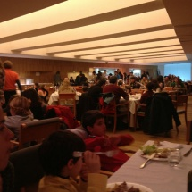 Restaurante buffet en el blaneario de Panticosa