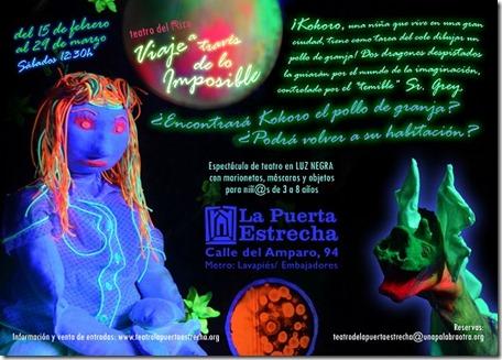 Viaje a través de lo Imposible, teatro infantil en Madrid