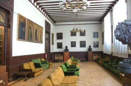 Sala La Cacharrería, en el Ateneo de Madrid.