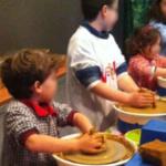 Taller infantil de cerámica en Ribadesella (Asturias)