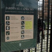 Directorio del Parque del Capricho