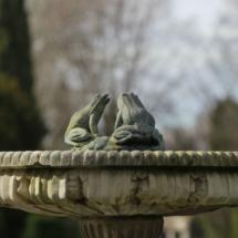 Fuente en el Parque del Capricho